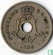 België 5 centimes 1904 (NLD)