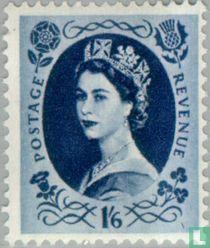 Koningin Elizabeth II (Wilding) - Fosfor
