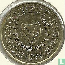 Cyprus 20 cents 1993