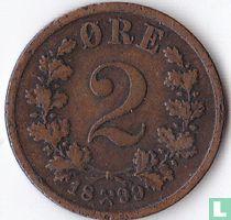 Noorwegen 2 Øre 1899