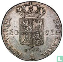 Netherlands 50 stuivers 1808