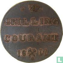 Norwegen 2 Skilling 1811