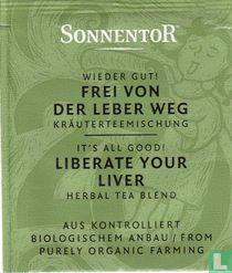 20 Wieder Gut ! FREI VON DER LEBER WEG Kräuterteemischung | It's All Good ! LIBERATE YOUR LIVER Herbal Tea Blend