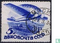 10 jaar luchtpostdienst