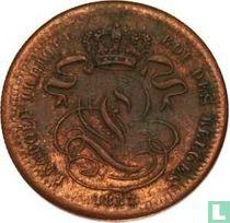 België 1 centime 1832