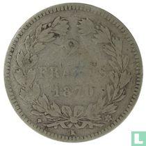 France 2 francs 1870 (K)