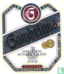 Gambrinus Svetle Pivo