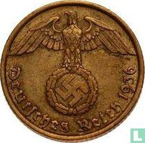 Duitse Rijk 10 reichspfennig 1936 (hakenkruis - G)