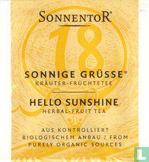 18 SONNIGE GRÜSSE Kräuter-Früchtetee | HELLO SUNSHINE Herbal-Fruit Tea