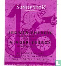 16 INGWER - ENERGIE Ingwer-Gewürztee | GINGER - ENERGY Ginger-Spice Tea