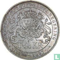 Zweden 2 kronor 1897