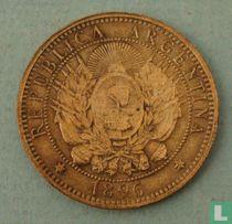 Argentina 2 centavos 1896