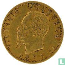 Italië 20 lire 1875