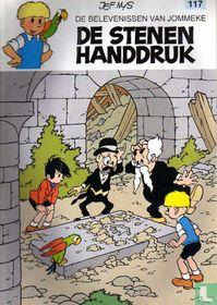 De stenen handdruk