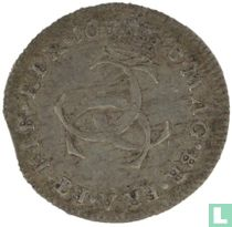 Angleterre 3 pence 1673