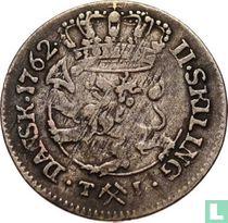 Norwegen 2 Skilling 1762