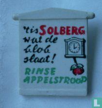 't is Solberg wat de klok slaat! Rinse Appelstroop