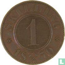 Norwegen 1 Skilling 1870