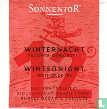 12 WINTERNACHT Früchte-Gewürztee   WINTERNIGHT Fruit-Spice Tea