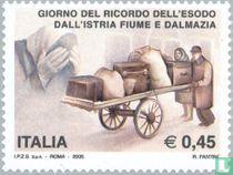Expulsion Italians from Istria 60 years