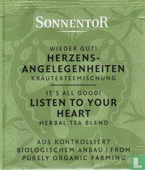 16 Wieder Gut ! HERZENS-ANGELEGENHEITEN Kräuterteemischung | It's All Good ! LISTEN TO YOUR HEART Herbal Tea Blend