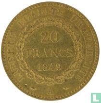 France 20 francs 1849 (genius of liberty)