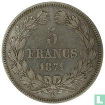 France 5 francs 1871 (Ceres)