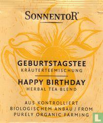 19 GEBURTSTAGSTEE Kräuterteemischung | HAPPY BIRTHDAY Herbal Tea Blend