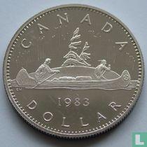 Canada 1 dollar 1983