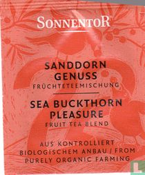 22 SANDDORN GENUSS Früchteteemischung   SEA BUCKTHORN PLEASURE Fruit Tea Blend