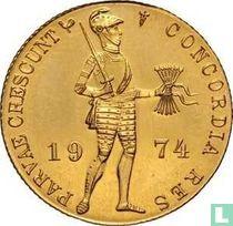 Nederland 1 dukaat 1974 (PROOFLIKE - medailleslag)